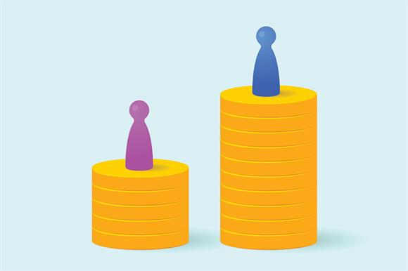gender pay gap in tech