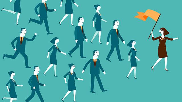 attract women into senior positions